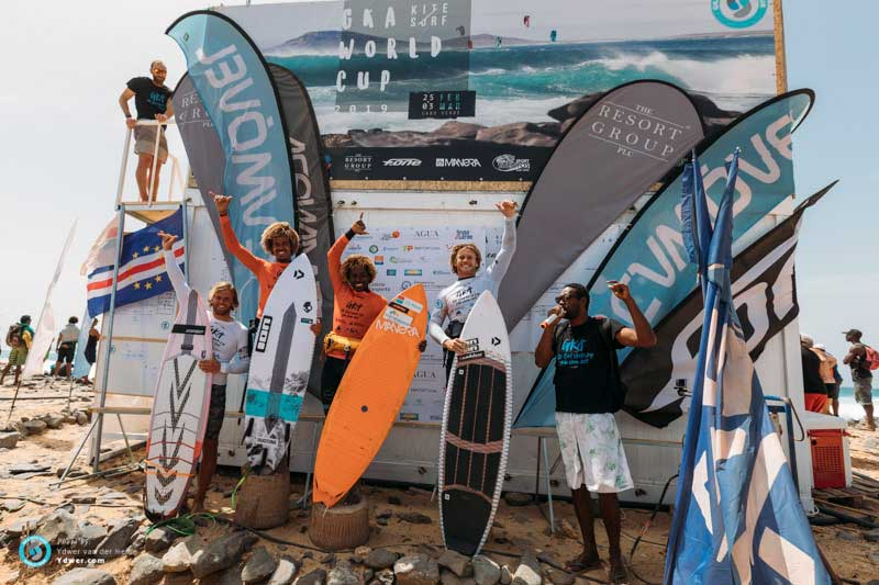 GKA Cabo Verde day two - Men's podium single elimination
