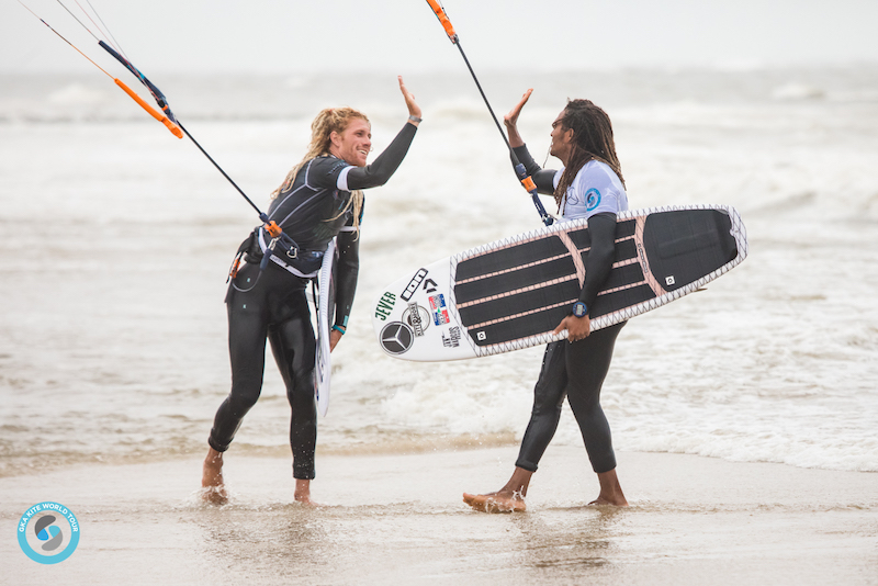 Simon Joosten Jan Marcos Riveras GKA Kite-Surf World Cup Sylt 2019