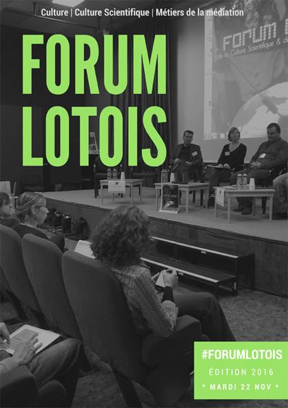 Forum Lotois 2016