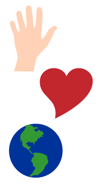 Hands Heart Earth Image