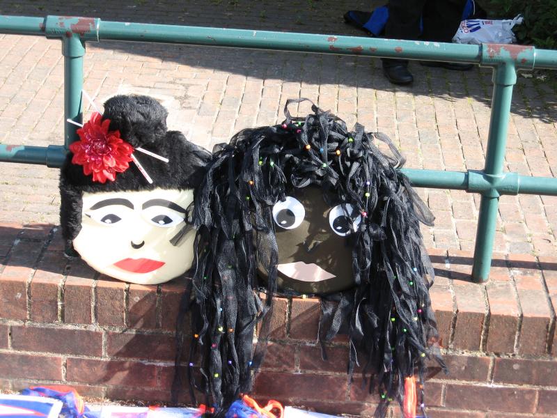 Hale carnival masks 2014, copyright Hale carnival