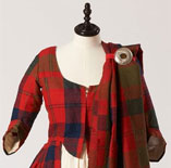 Wedding dress belonging to Isabella Fraser ©Inverness Museum & Art Gallery