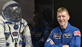 Tim Peake's spacesuit (c) Neil Hanna
