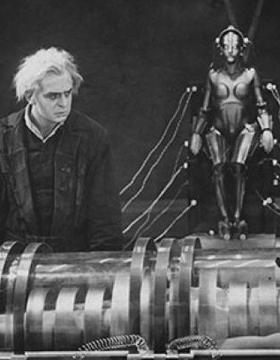 Still from Fritz Lang's film Metropolis (1927)