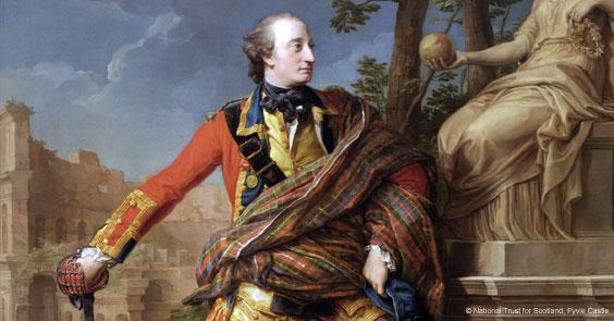 Colonel William Gordon of Fyvie by Pompeo Batoni © National Trust for Scotland, Fyvie Castle