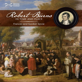 Front cover of Robert Burns In Time and Place an interactive activity book for children