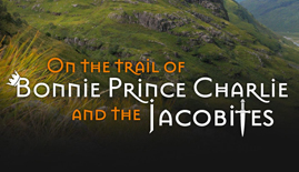 On the trail of Bonnie Prince Charlie and the Jacobites Logo