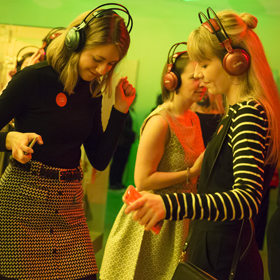 Silent Disco at Museum Lates copyright Ruth Armstrong