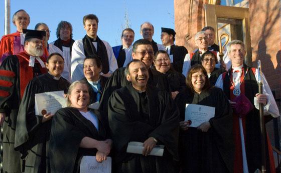 Indigenous Saskatchewan theology students