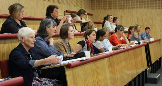 Photo of Stroke Study Day attendees