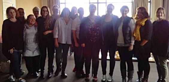 Photo of midwifery students