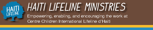 Haiti Lifeline Ministries Banner