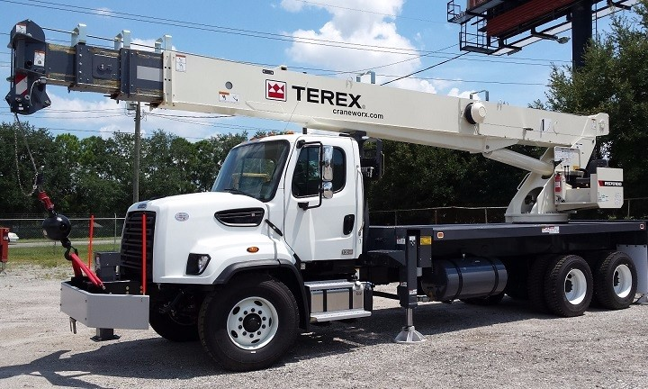 terex rs 70100 boom truck