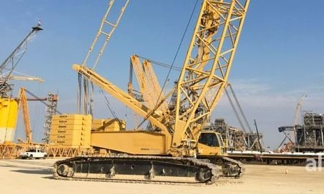 demag cc2500 crawler crane