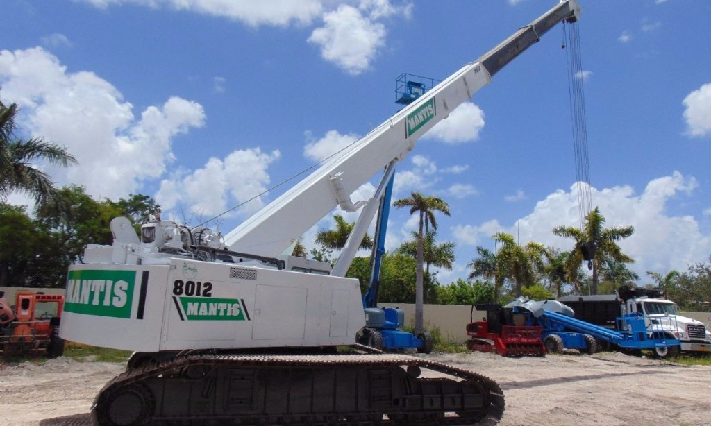 2003 Mantis 8012 Crawler Telescopic Boom Crane