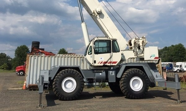 terex rt555 rough terrain crane