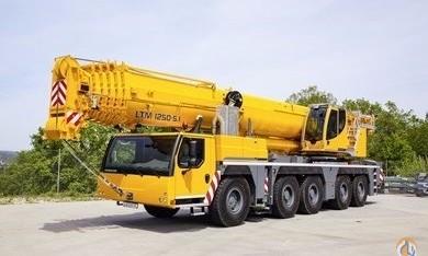 Liebherr LTM 1250-5.1 all terrain crane