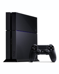 ps4 console and wireless controller