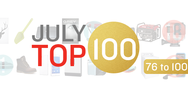 july top 100 products week 4