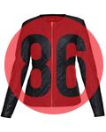 g gouture ladies biker jacket