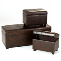 vintage ottoman set