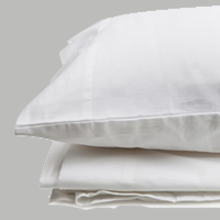 cotton four piece sheet set