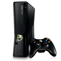 Microsoft Xbox 360 Game Console with Kinect Sensor