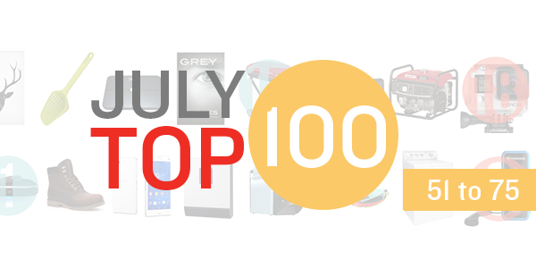 july top 100 products week 3