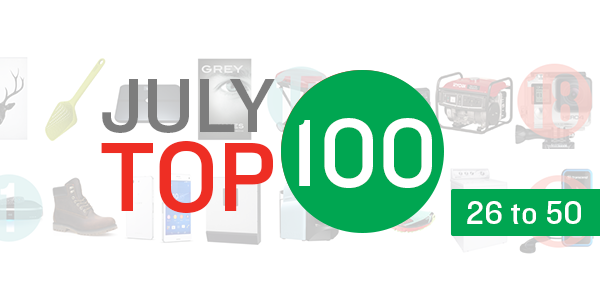 july top 100 products week 2