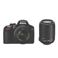 nikon d3200 with 18-55mm lens kit