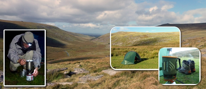 Dartmoor wild camping and back packing