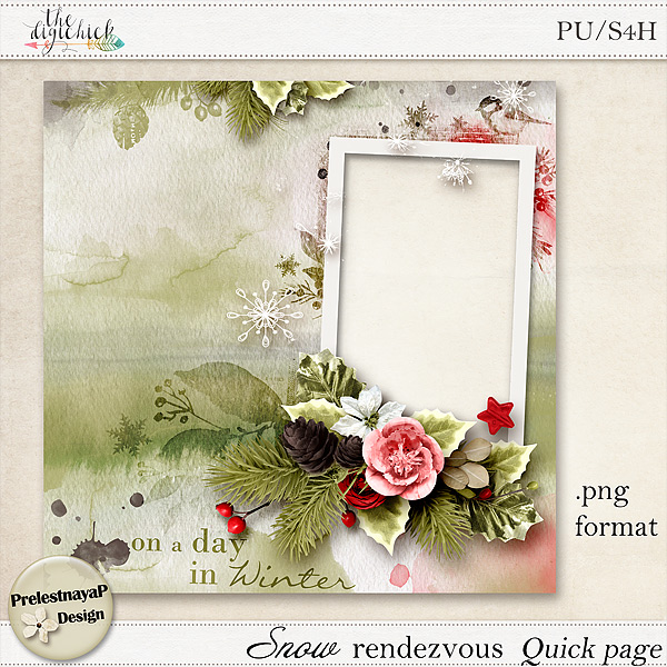 New January Freebies by PrelestnayaP Design