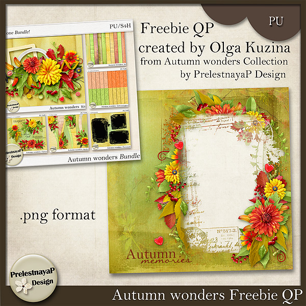 Special September Offer for Autumn wonders Collection + new Freebie!