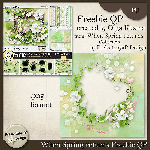 Time for March Pickle Barrel - New When Spring returns Collection Only $1 each pack + FWP Offer!