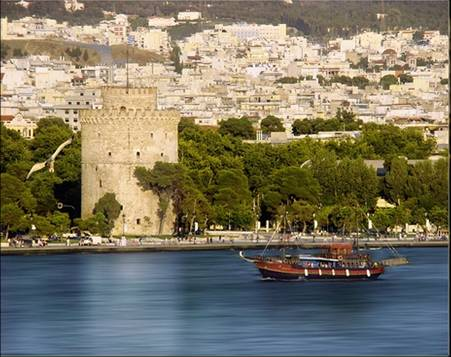 A photo of Thessaloniki, the 30th ISME World Conference of Music Education host city