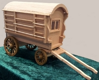 A Romany Caravan from Lazy Days