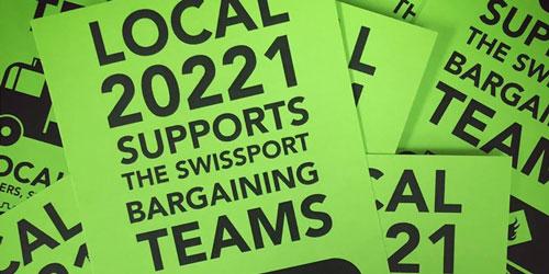 bargaining team support