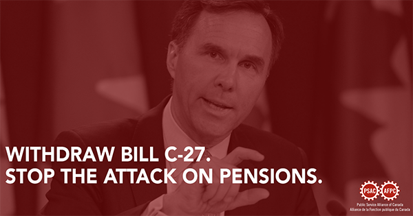 Stop the attack on pensions - send an email today.