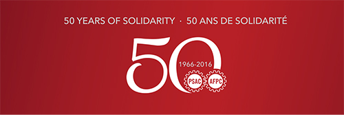 Celebrate PSAC's 50th Anniversary - Vancouver