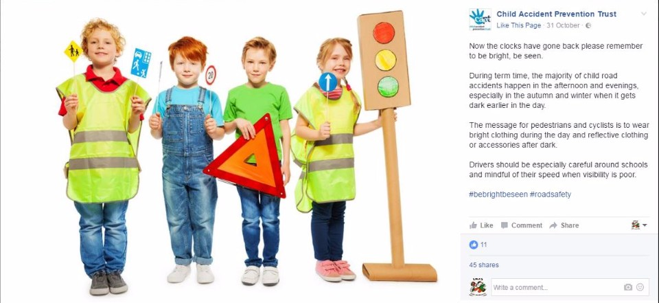 child accident prevention trust facebook page