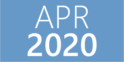 April 2020 Events
