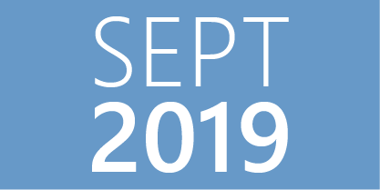 September 2019 Events
