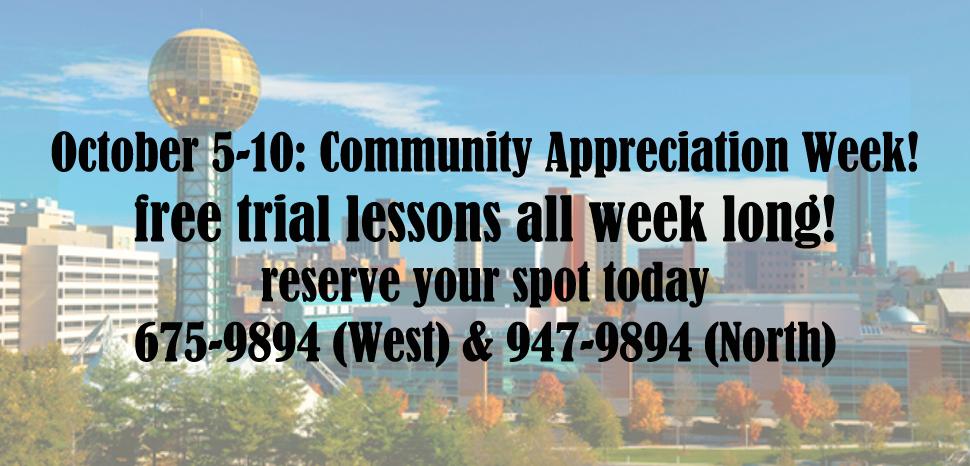 Community Appreciation Week
