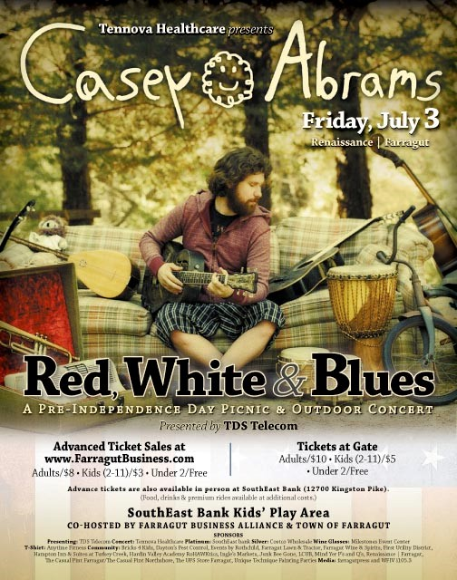 Red, White & Blues and Casey Abrams