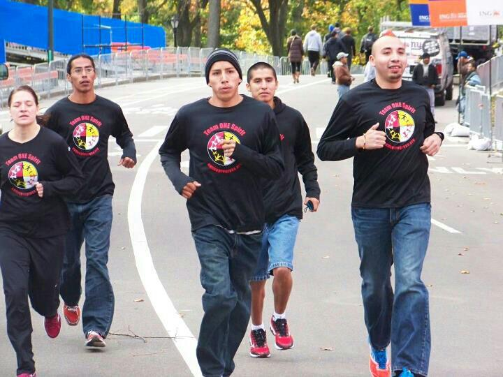 Team One Spirit Runs in Central Park