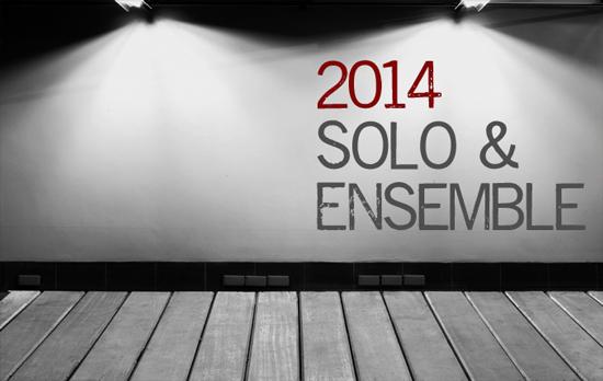 2014 Solo & Ensemble Music
