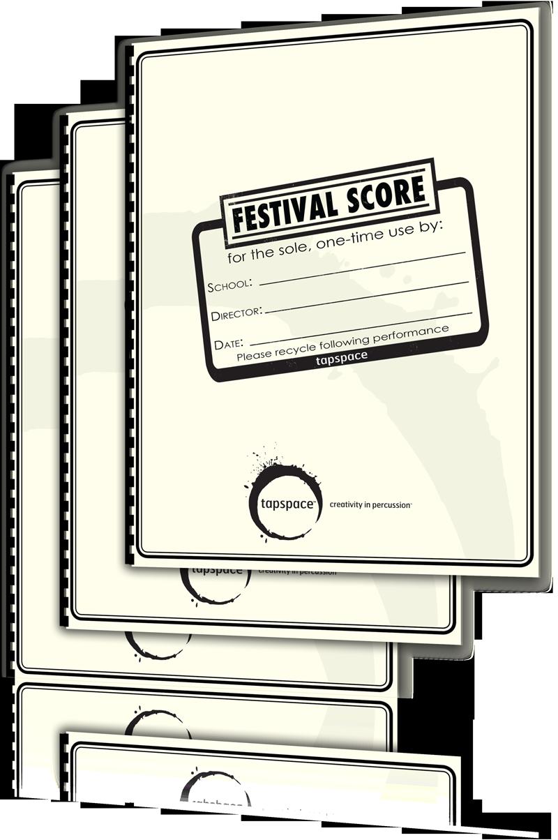 Festival Score 3-Pack