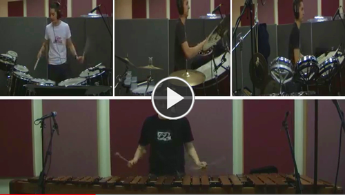 """Ed Beesley performs a multi-camera rendition of """"Rite of Passage"""" by Jesse Monkman."""