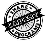 Share Concert Programs