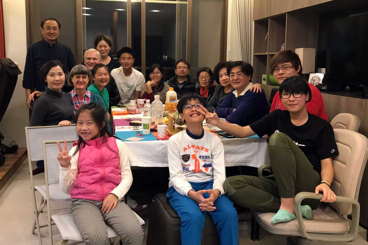 New Year's Eve with Chen Family